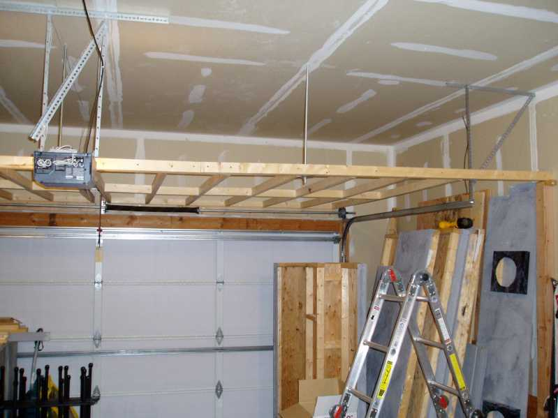 storage racks over garage door storage racks. Black Bedroom Furniture Sets. Home Design Ideas